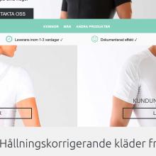 Anodyne.se – hållningskorrigerande kläder
